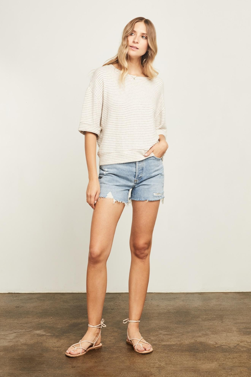 Gentle Fawn Collins Striped Sweater - Main Image