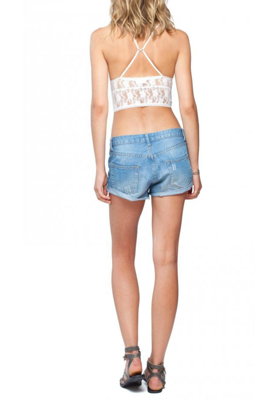 Gentle Fawn Convertible Lace Bralette - Back Cropped Image