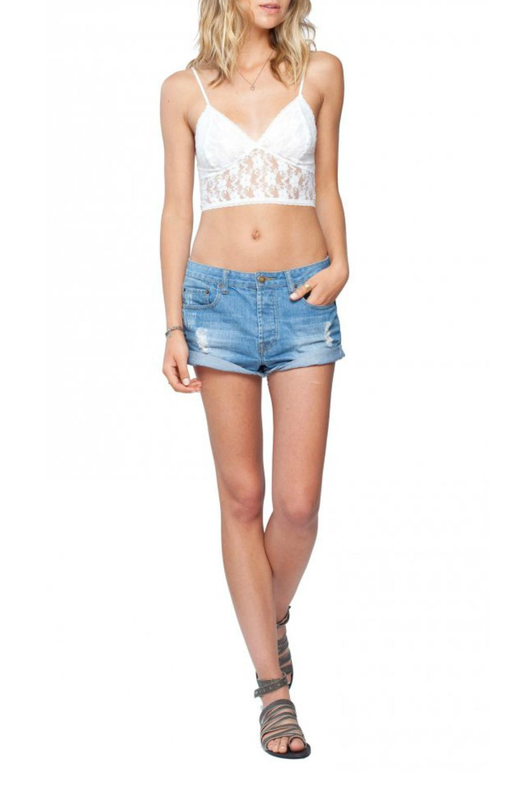 Gentle Fawn Convertible Lace Bralette - Front Cropped Image