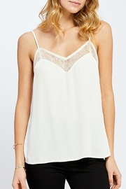 Gentle Fawn Cream Lace Camisole - Product Mini Image