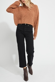 Gentle Fawn Cropped Fall Sweater - Product Mini Image