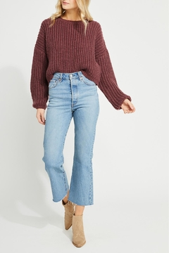 Gentle Fawn Cropped Fall Sweater - Product List Image