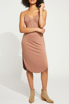 Gentle Fawn Curved Hem Jersey Dress - Product List Image