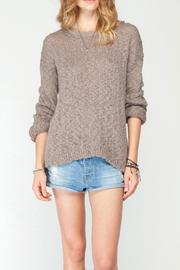 Gentle Fawn Cutout Back Sweater - Product Mini Image