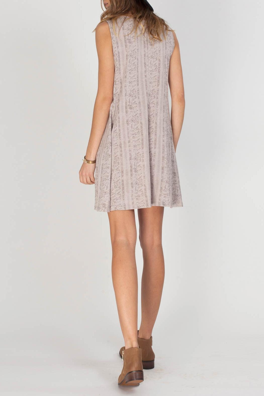 Gentle Fawn Domino Dress - Side Cropped Image