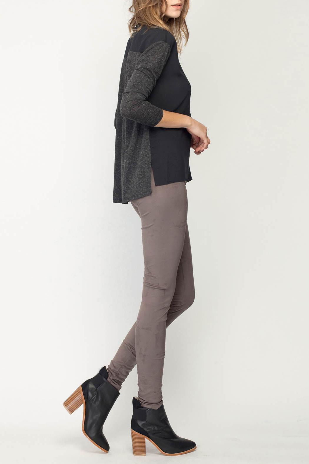 Gentle Fawn Eastwood Suede Legging - Front Full Image