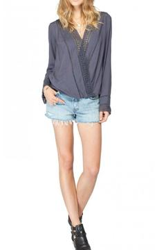 Shoptiques Product: Embroidered Detail Blouse