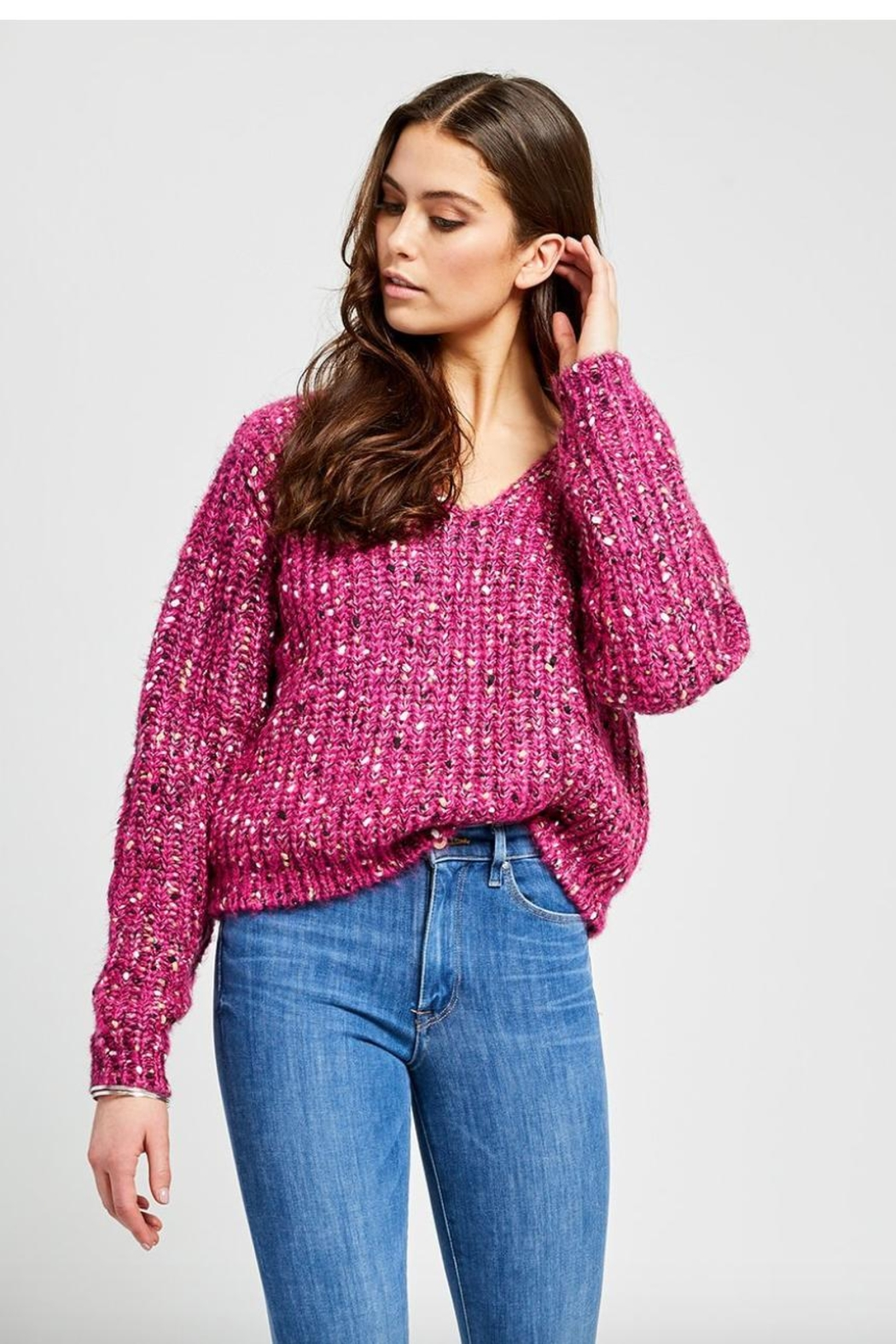 Gentle Fawn Everest Sweater - Front Cropped Image