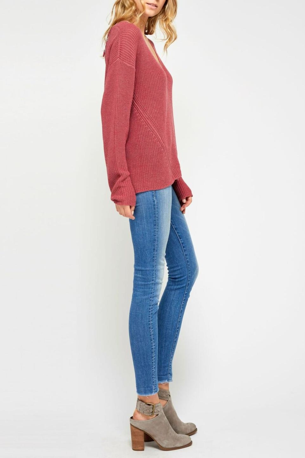 Gentle Fawn Everyday Cozy Sweater - Front Full Image