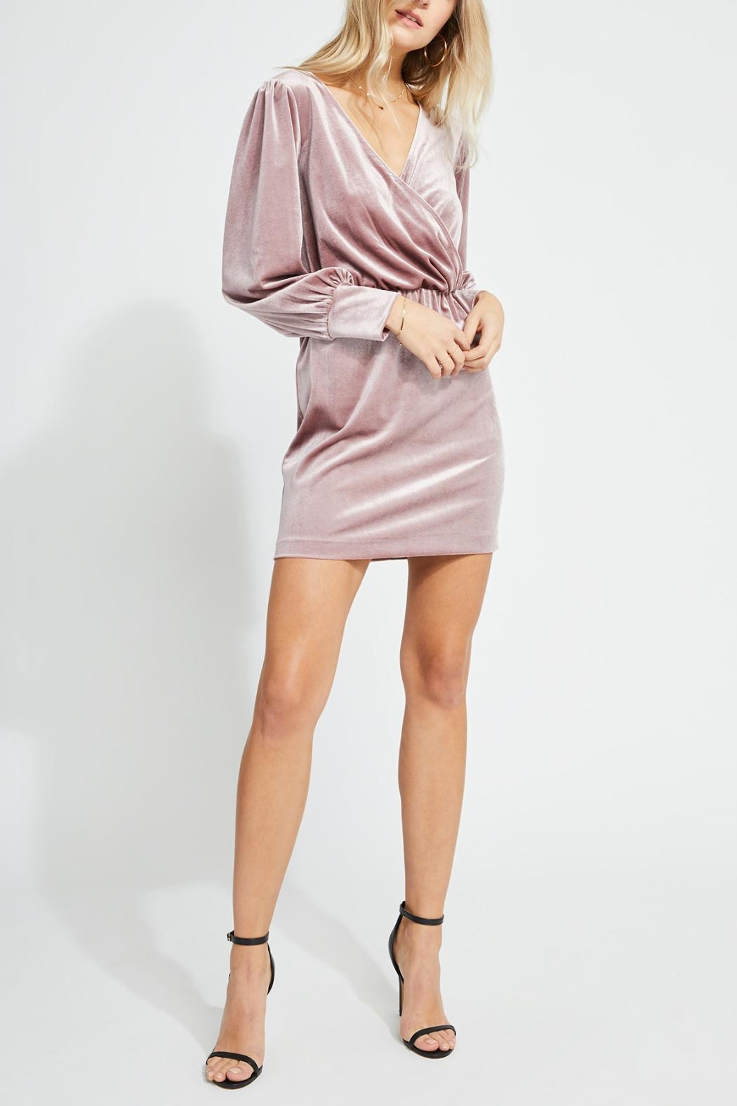 Gentle Fawn Faux Wrap Dress - Main Image