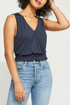 Gentle Fawn Faux Wrap Tank - Product List Image