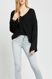 Gentle Fawn Flare Sleeve Sweater - Product Mini Image