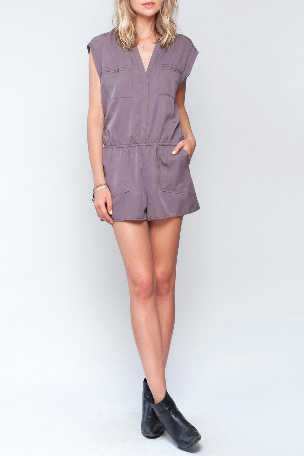 Gentle Fawn Flight Romper - Front Cropped Image