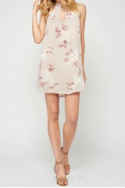 Gentle Fawn Floral Keyhole Dress - Product Mini Image