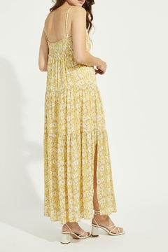 Gentle Fawn Floral Print Maxi Dress - Alternate List Image