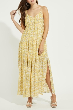 Gentle Fawn Floral Print Maxi Dress - Product List Image