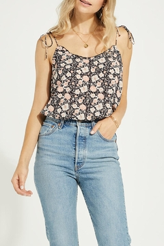 Gentle Fawn Floral Print Tank - Product List Image