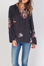 Gentle Fawn Floral Print Top - Product Mini Image