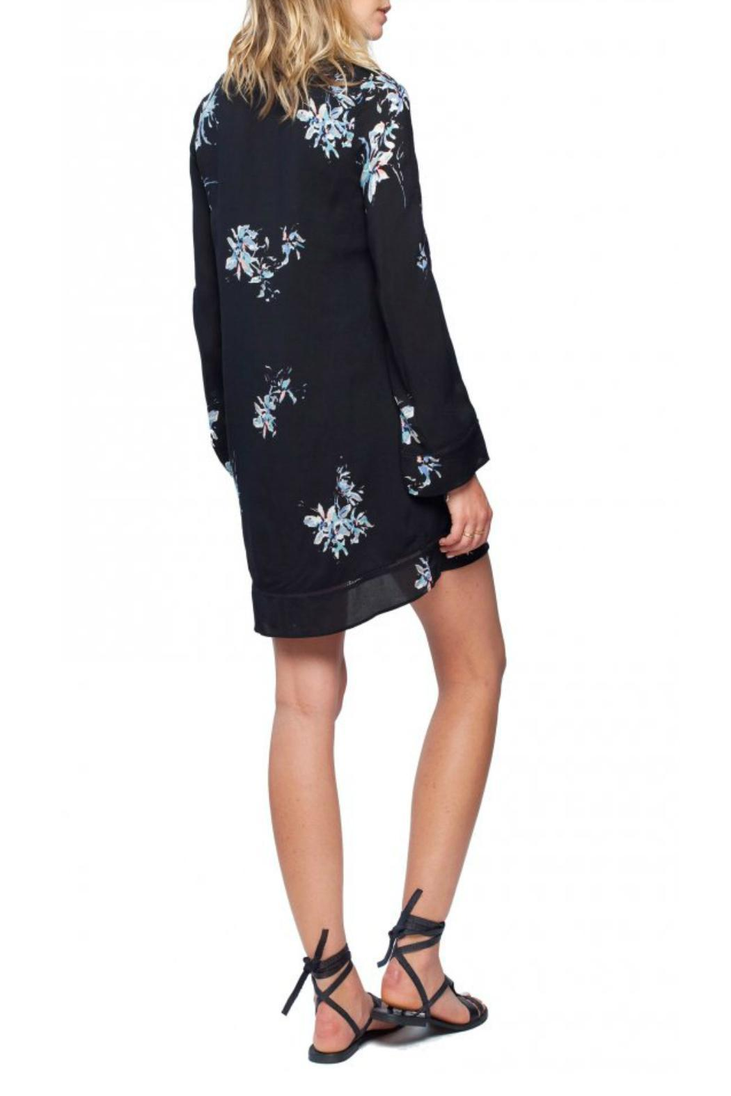Gentle Fawn Floral Spectacle Dress - Side Cropped Image