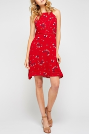 Gentle Fawn Floral Tieback Dress - Product Mini Image