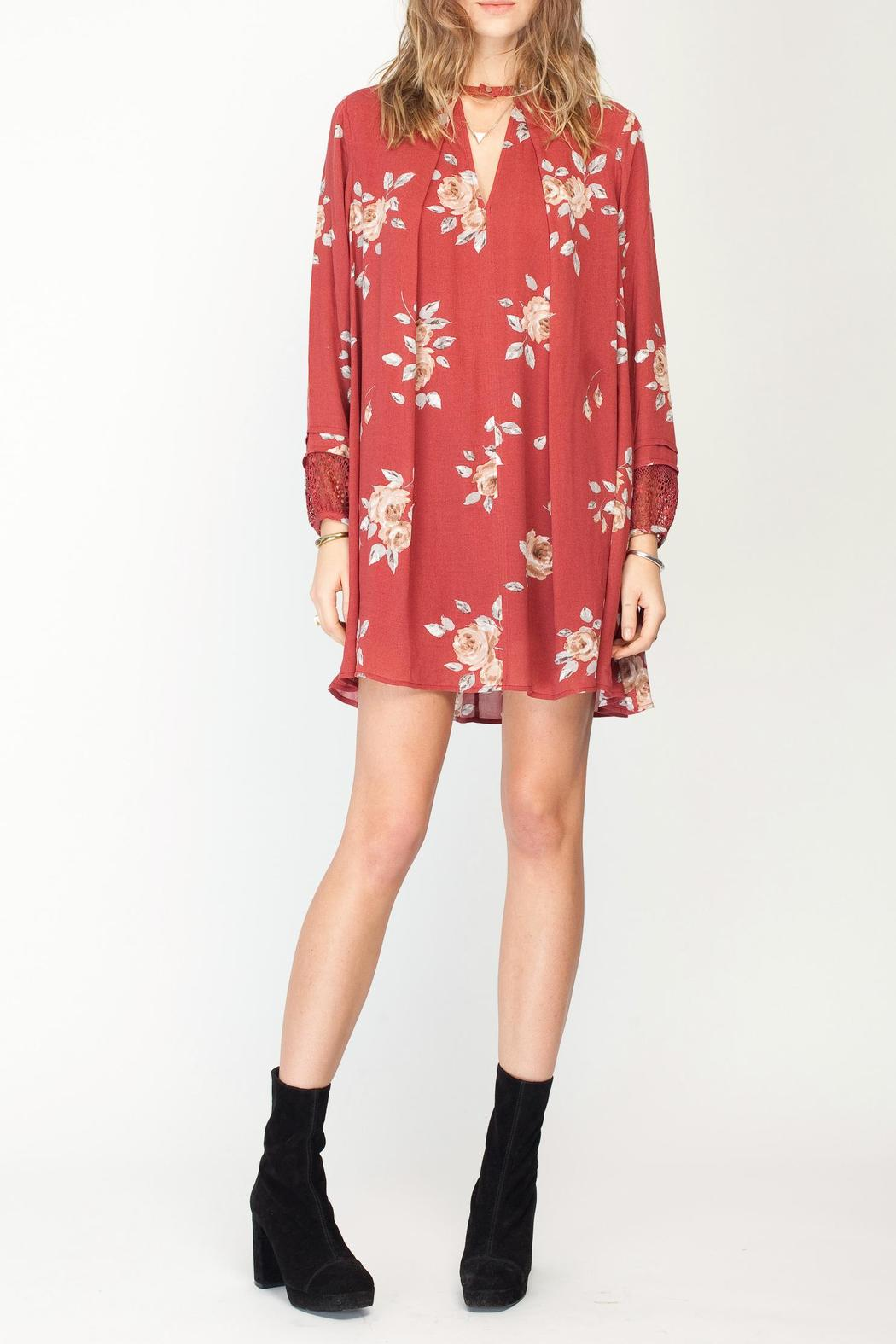 Gentle Fawn Floral Utopia Dress - Main Image