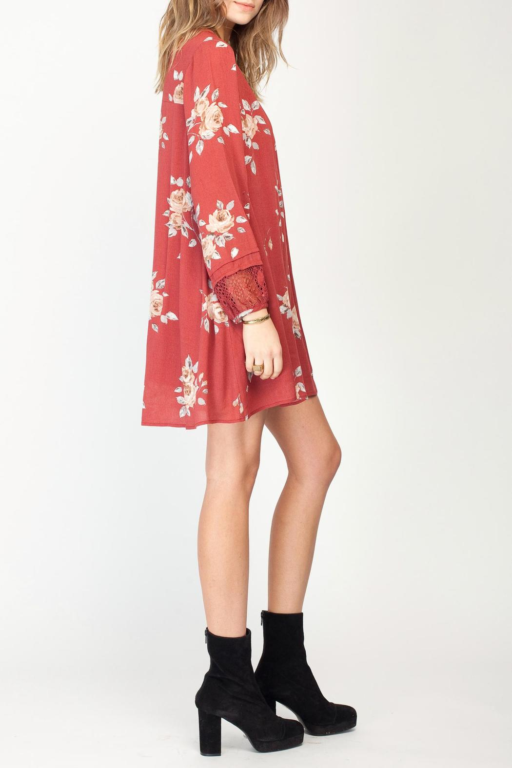 Gentle Fawn Floral Utopia Dress - Front Full Image