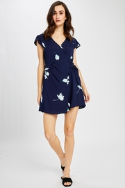 Gentle Fawn Floral Wrap Dress - Product Mini Image