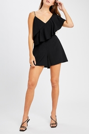 Gentle Fawn Flounce Detail Romper - Product Mini Image
