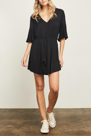 Gentle Fawn Flounce Sleeve Dress - Front cropped