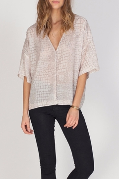 Shoptiques Product: Flowy Printed Top