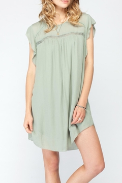 Shoptiques Product: Flutter Sleeve Dress