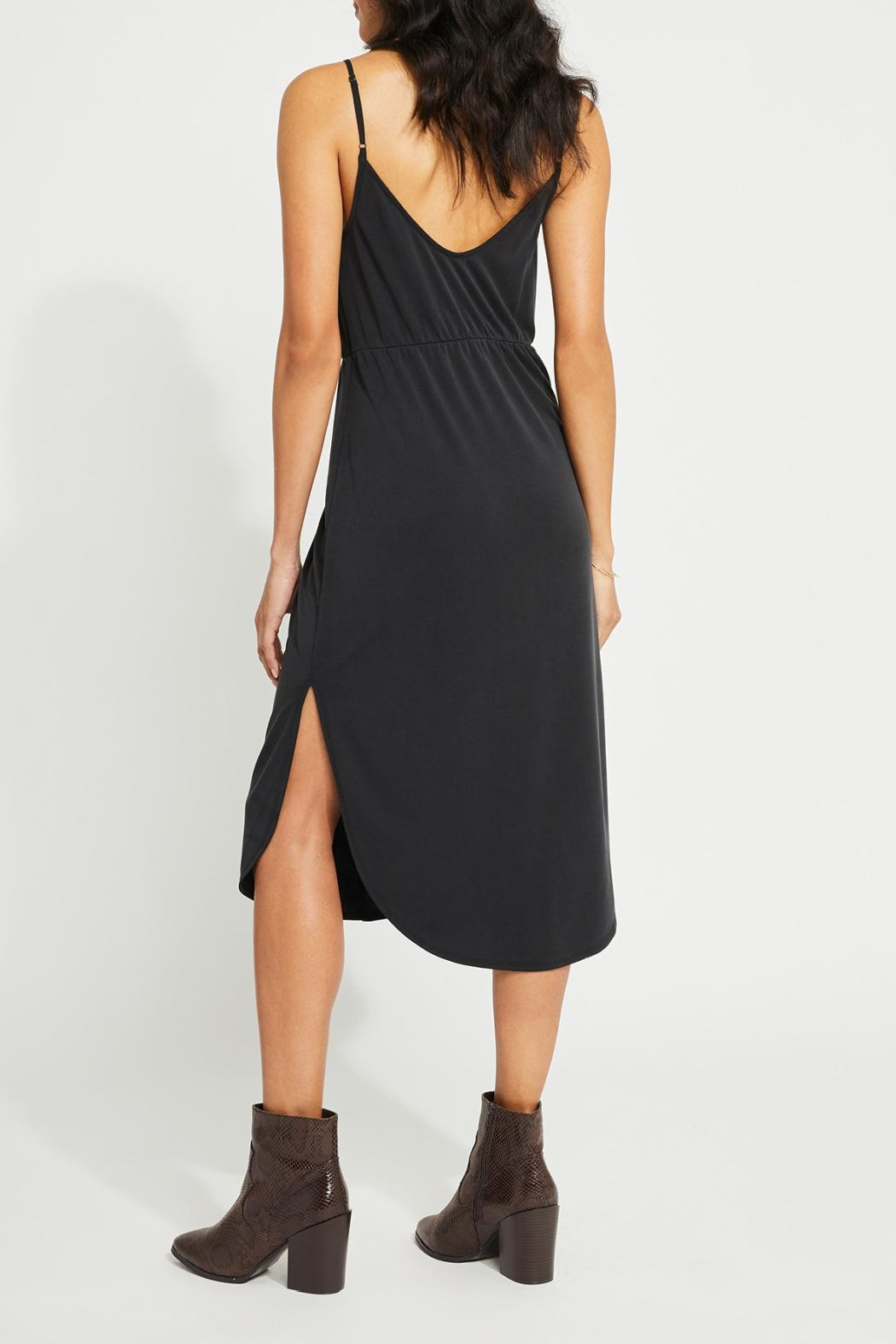 Gentle Fawn Front Gather Dress - Side Cropped Image