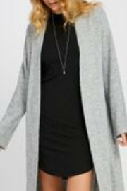 Gentle Fawn Grey Duster Cardigan - Product Mini Image