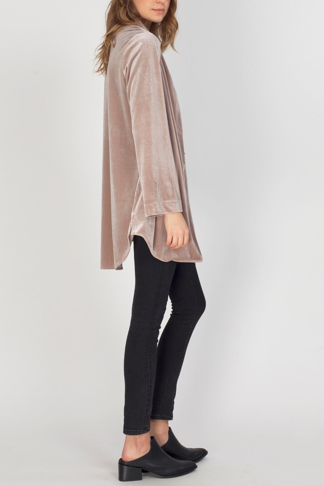 Gentle Fawn Harriet Velvet Jacket - Front Full Image
