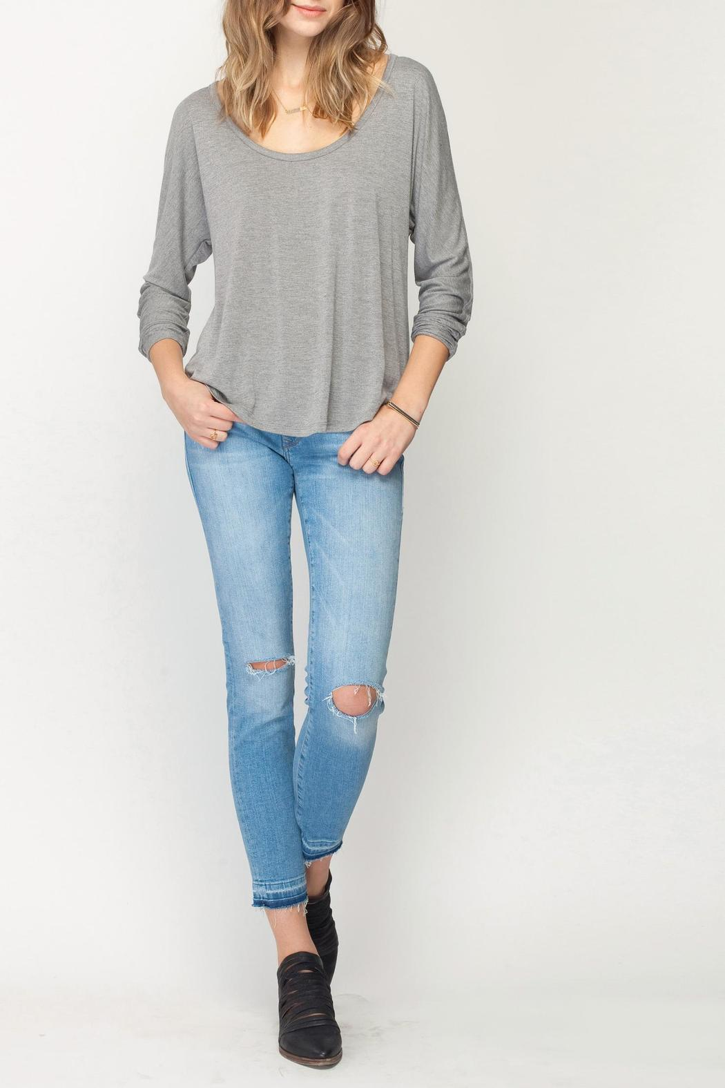 Gentle Fawn Heathered Felicity Top - Front Full Image