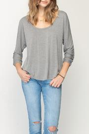 Gentle Fawn Heathered Felicity Top - Front cropped
