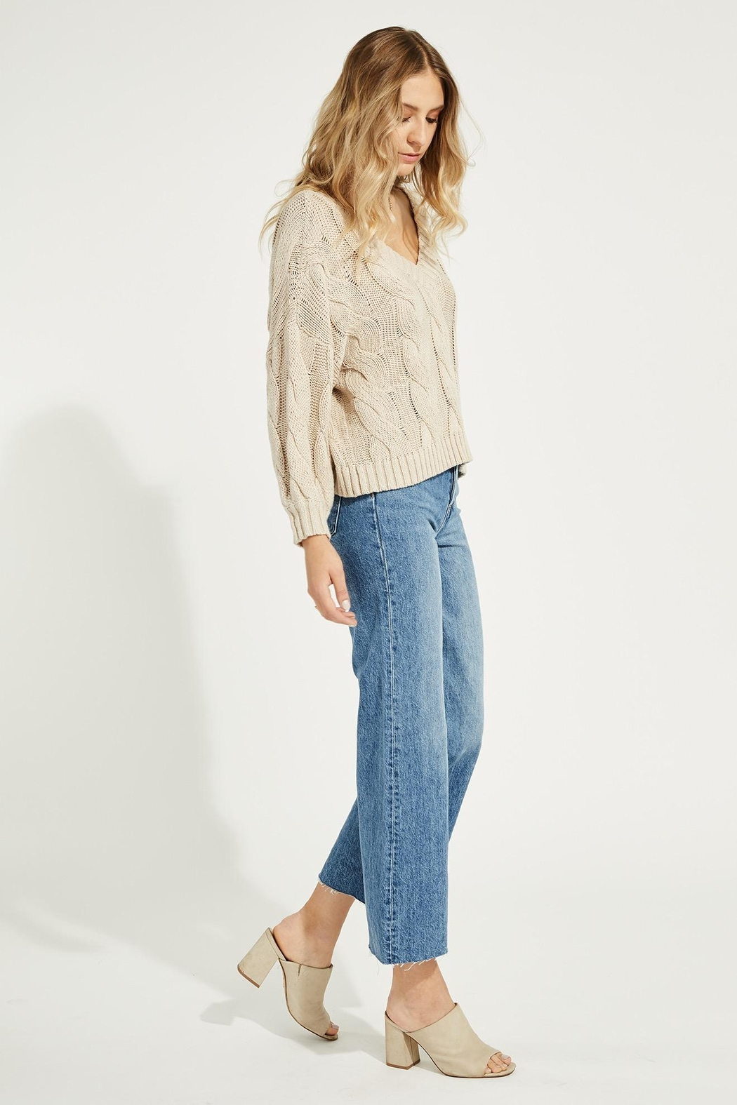 Gentle Fawn Heritage Cotton Sweater - Front Full Image