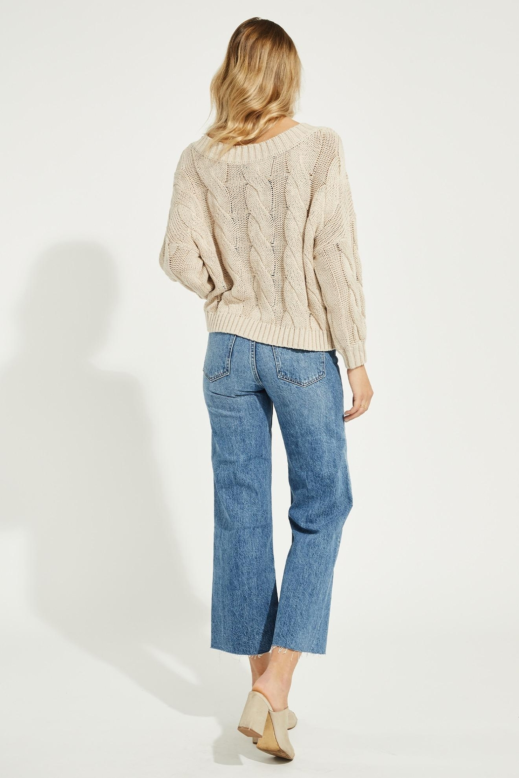 Gentle Fawn Heritage Cotton Sweater - Side Cropped Image