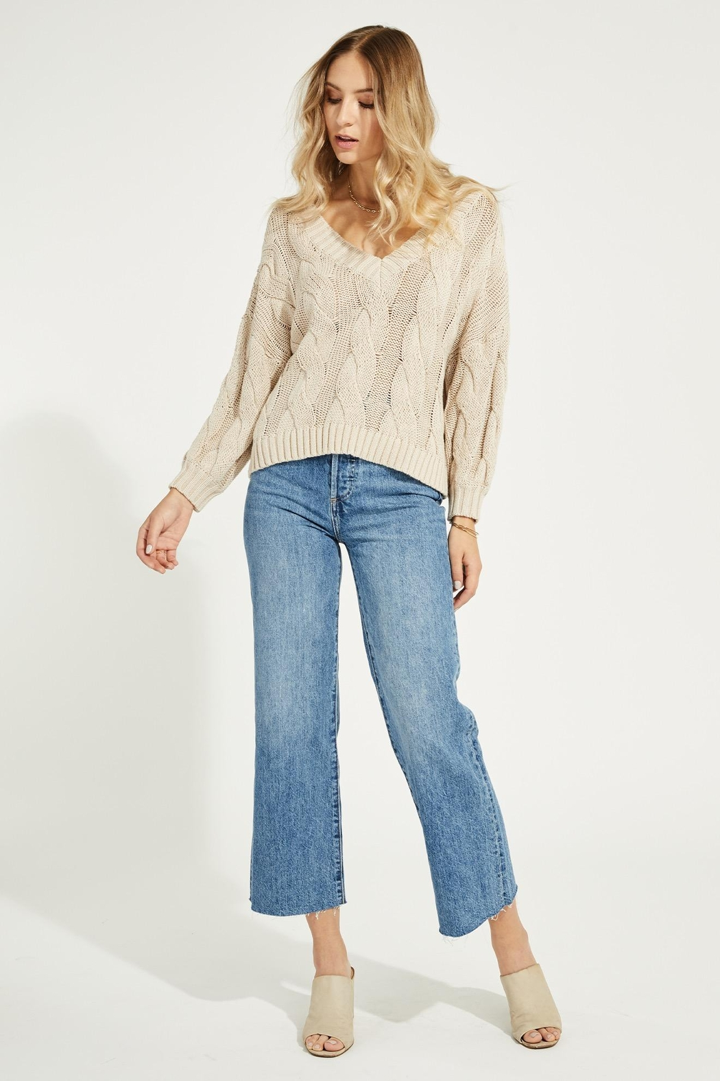 Gentle Fawn Heritage Cotton Sweater - Main Image