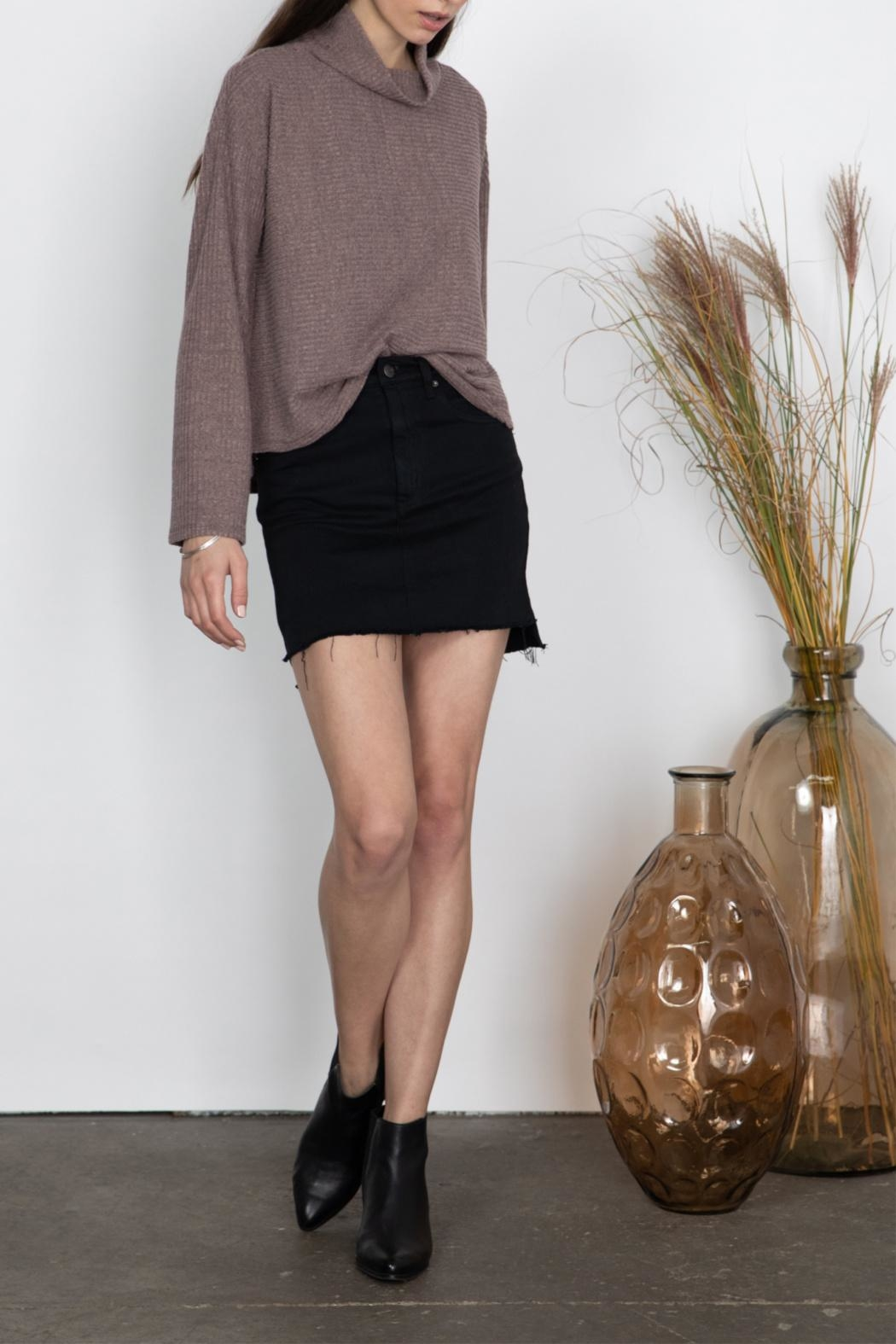 Gentle Fawn High Neck Top - Front Full Image