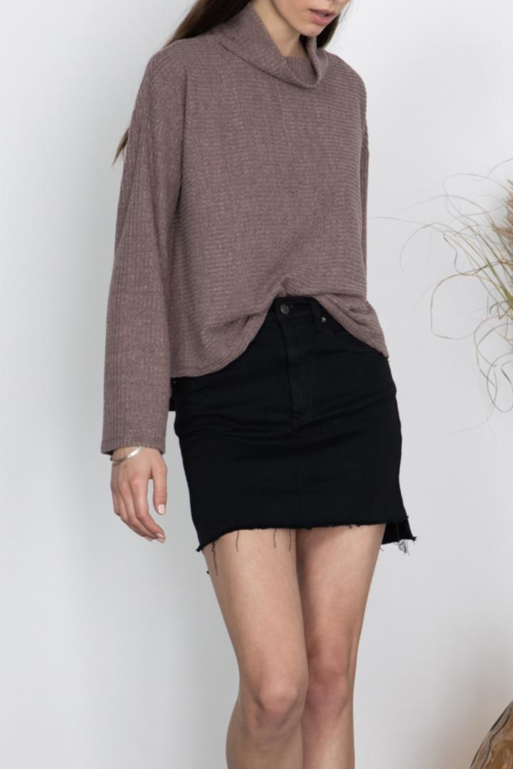 Gentle Fawn High Neck Top - Main Image