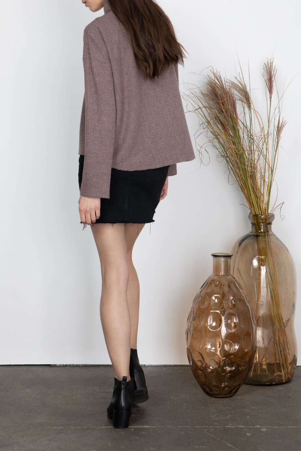 Gentle Fawn High Neck Top - Back Cropped Image