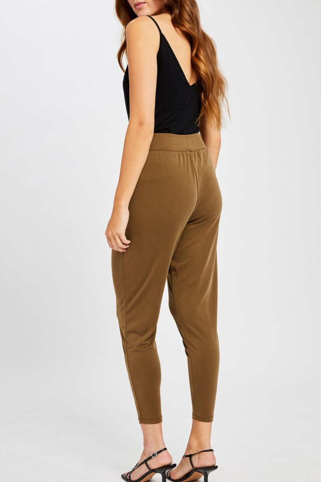 Gentle Fawn Highwaisted Cropped Pants - Side Cropped Image