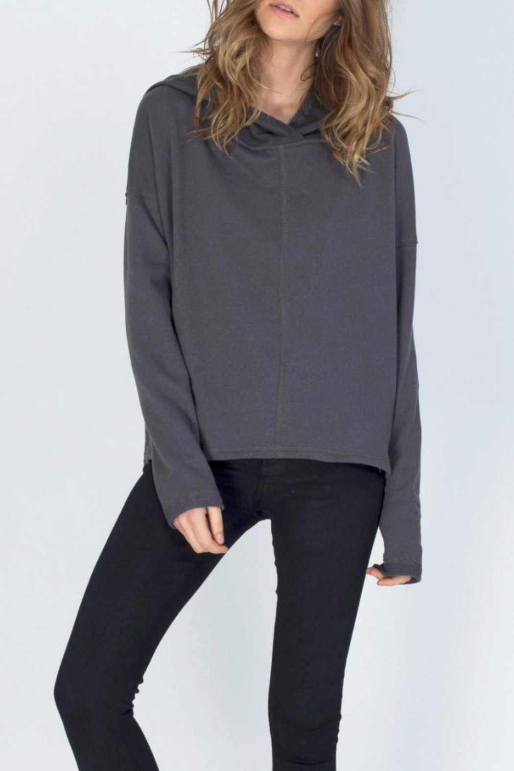 Gentle Fawn Hooded Terry Pullover - Main Image