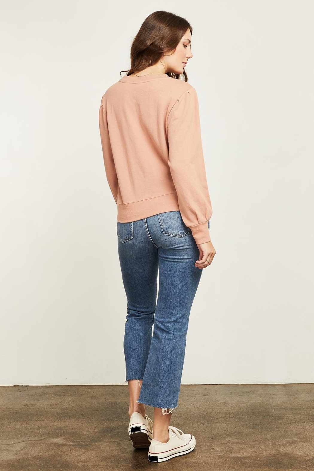 Gentle Fawn Hope Long Sleeve Sweater - Front Full Image