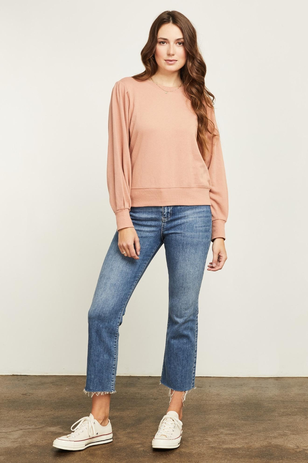 Gentle Fawn Hope Long Sleeve Sweater - Side Cropped Image