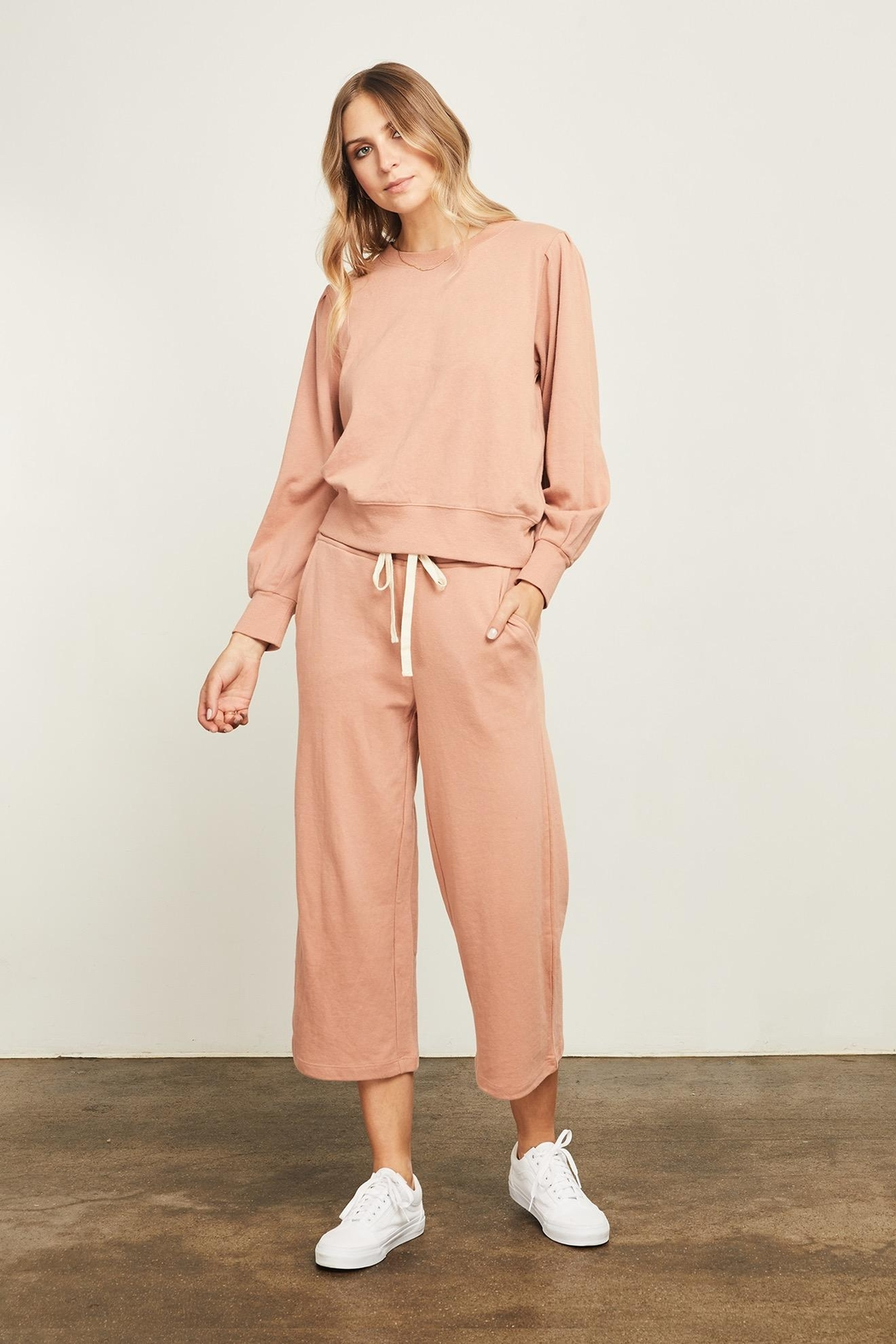 Gentle Fawn Hunter Wide Leg Cropped Pant - Main Image