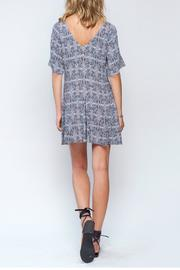 Gentle Fawn Ikat Print Dress - Back cropped