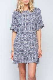 Gentle Fawn Ikat Print Dress - Product Mini Image