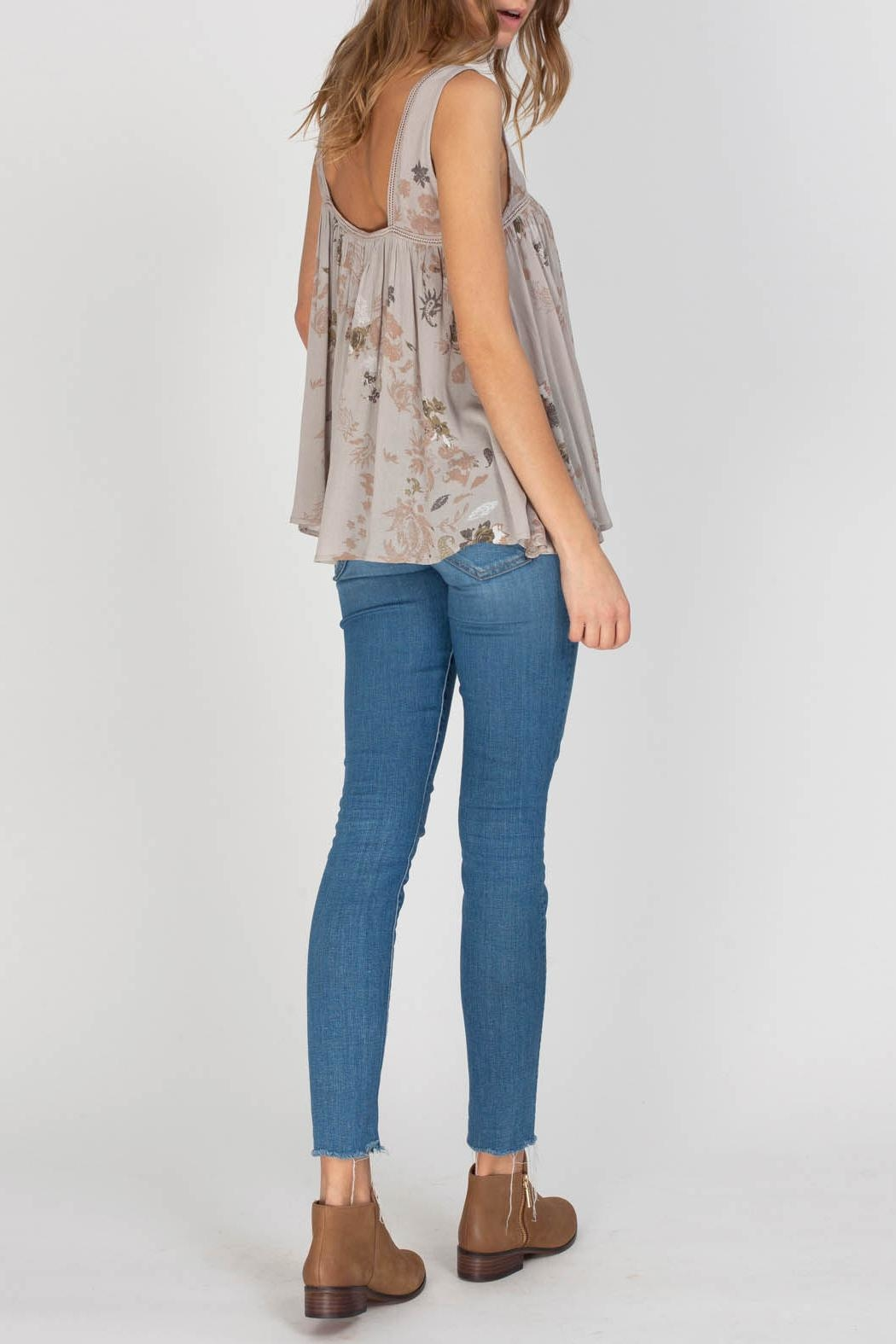 Gentle Fawn Indigo Top - Back Cropped Image
